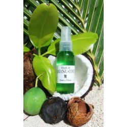 Huile de coco au Tamanu