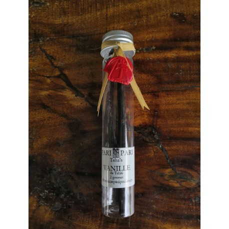 Vanille de Tahiti 2 gousses tubes